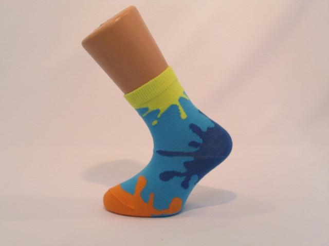 Art. 326 Şosete bumbac şi elastan-326-m41-albastru-14-16