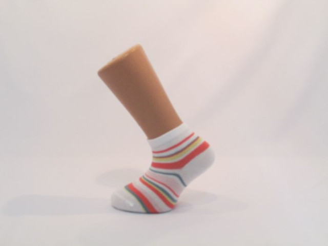 Art. 332 Şosete bumbac şi elastan-332-m29-alb-corai-14-16