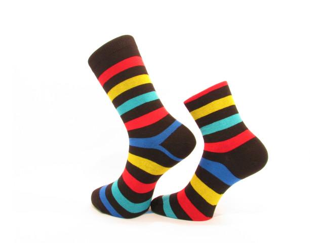 Set 2 perechi,art.426/221-Şosete pentru tine și perechea ta din bumbac şi elastan
