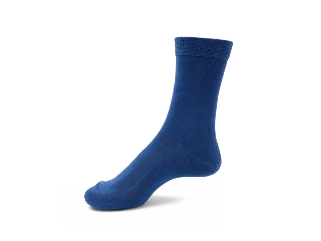Art. 1416 Şosete 100% bumbac-1416-m1-albastru-30