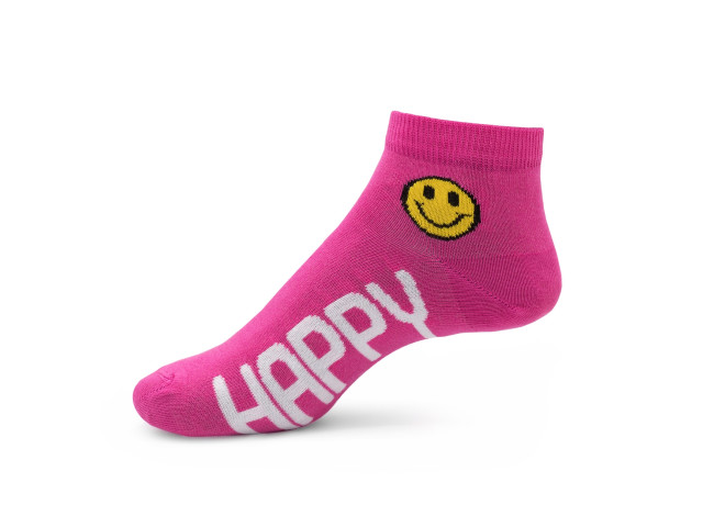 Set 7 perechi,art.243-Şosete sport cu emoji pentru femei