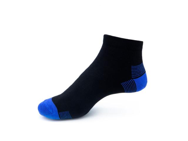 Art. 443 Şosete sport bumbac şi elastan-443-m38-albastru-26-28