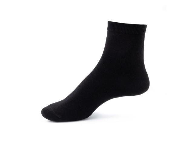 Art. 200 Şosete 100% bumbac-200-m1-negru-25