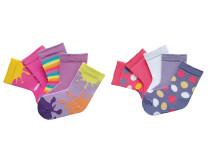 Set 10 perechi, Şosete copii bumbac şi elastan, marime: 18-20 (31-34) - model 326