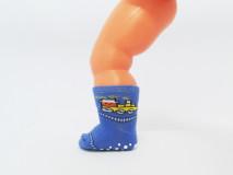 Art. 326 Şosete bumbac şi elastan-326-m33-albastru-ABS10