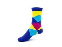 Art. 426 Şosete bumbac şi elastan-426-m30-albastru-26-28